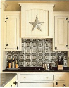 Country kitchen! this would go with the star theme already in my kitchen