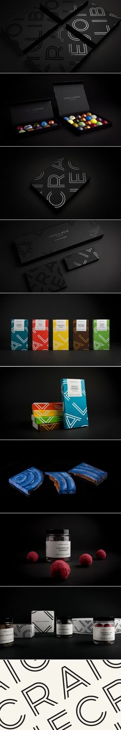 Craig Alibone Chocolate Will Captivate Your Eyes and Your Stomach — The Dieline - Branding & Packaging Design