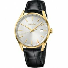 Calvin Klein ck Formality Mens Watch , Men's, Clear Size: One Size Fits All Fossil Watches For Men, Vintage Watches For Men, Cool Watches, Expensive Watches, Online Watch Store, Calvin Klein Men, Watch Brands, Black Leather, Fashion Watches