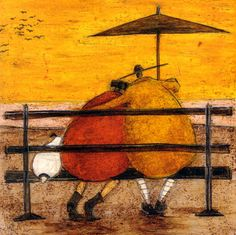 Snuggles at Sunset by Sam Toft