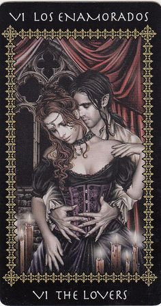 The Lovers Card, by victoria Frances