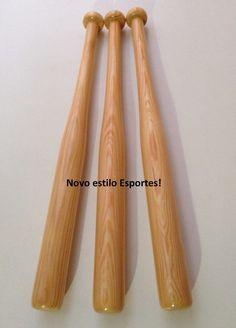 faf2f9094 taco bastao de baseball (beisebol) em madeira clara e maciça