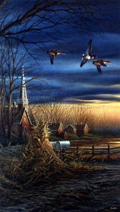 Terry Redlin Country Neighbors