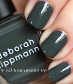 Deborah Lippmann Nail Polish in Stormy Weather | #EssentialBeautySwatches | BeautyBay.com
