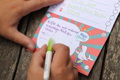 Detektivparty: Deko, Spiele, Rezepte und mehr - Lavendelblog Geheimagenten Party, Messages, Prize Draw, Game Ideas, Invitation Cards, Invitations, Games, Deco