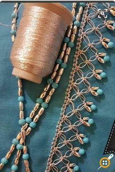 Most beautiful crochet tutorials, # of she # Is oyaörneklerigöst # Yazmakenarıo Hairpin Lace Crochet, Crochet Lace Edging, Crochet Motifs, Crochet Borders, Crochet Flower Patterns, Crochet Designs, Crochet Flowers, Crochet Stitches, Knitting Patterns