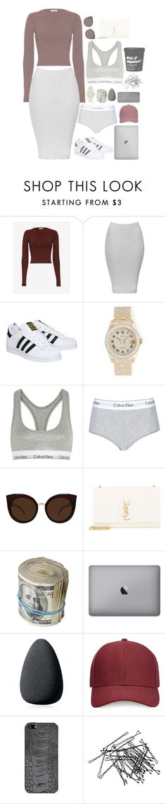 """•These 4 lonely walls have changed the way I feel•"" by ranyastyles ❤ liked on Polyvore featuring A.L.C., Topshop, adidas, Rolex, Calvin Klein Underwear, Quay, Yves Saint Laurent, Christian Dior, Whistles and Valentine Goods"
