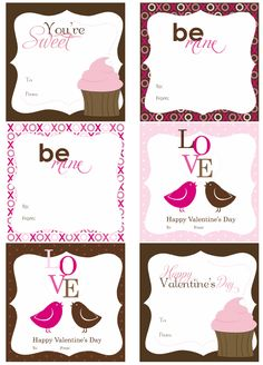 Sweet Girl Valentines free download pdf  printable Valentines    http://create.northridgepublishing.com/freebies/free-download-printable-valentines/