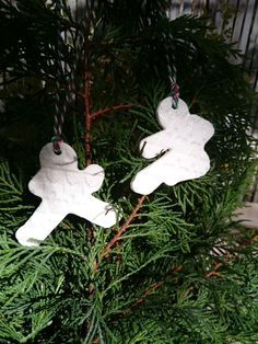 NINJABREAD CHRISTMAS DECORATIONS, hand made in luxury Ming Porcelain. by LittleSwineDesign on Etsy