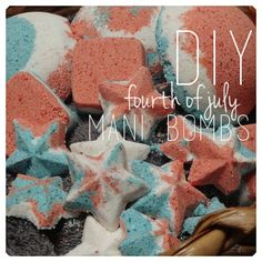Making themed stuff for holidays is one of my favorite things to do, so I did not pass up the opportunity to make some 4th of July-themed mani/pedi bombs! I'll show you how to make your own, too! What you'll need Makes about 10-15 mani bombs depending on the size of your molds 1/2 cup …
