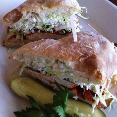 Grilled Chicken Sandwich @ Cafe Bernardo - Midtown