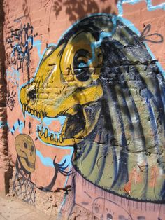 Madrid's Lavapiés - one of the funkiest neighborhoods in the city. It's full of incredible graffiti and street art.