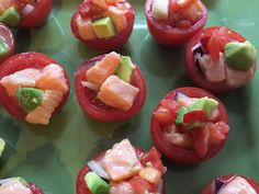 Ceviche Tomato Bombs: hundreds of varieties