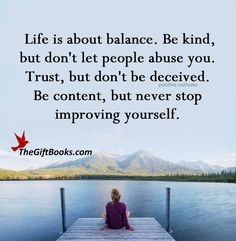 Finding the balance & peace I lost ♥ Life Lesson Quotes, Life Lessons, Don't Let, Let It Be, Do Not Be Deceived, Positive Outlook, Live Love, Love Your Life, Losing Me