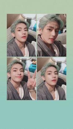 a kim taehyung wallpaper everyone V Bts Cute, I Love Bts, Bts Lockscreen, Foto Bts, Taekook, Bts Memes, Bts Bangtan Boy, Jimin, Bts Kim
