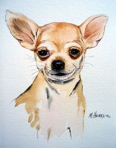 ;I wish I could do art like this #chihuahua