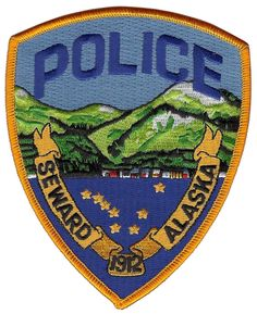 Seward Police Alaska Shoulder Patch - 4 3/4 inches tall by 3 7/8 inches wide • $4.50 - PicClick