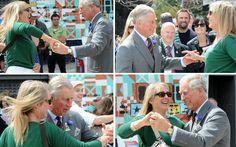 El príncipe Carlos imita al 'rey' del rock and roll persuadido por la duquesa de Cornualles #royals #realeza #royalty