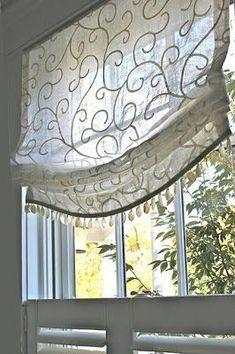 Bathroom Window Treatments, Bathroom Windows, Picture Window Treatments, Custom Window Treatments, Bathroom Window Curtains, Transom Window Treatments, Small Window Curtains, Window Treatments Living Room, Kitchen Windows