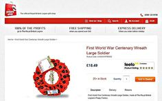 Poppy Wreath by Royal British Legion Withdrawn; It Depicted a WWI US Soldier - http://www.warhistoryonline.com/war-articles/poppy-wreath-royal-british-legion-withdrawn-depicted-wwi-us-soldier.html