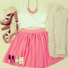 Girly teen fashion