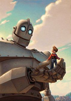 """""""Iron Giant"""" so cool if it were real"""