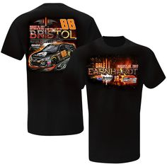 Dale Earnhardt Jr. Hendrick Motorsports Team Collection Bristol Co-Brand T-Shirt - Black