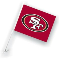 49ers Car Flag