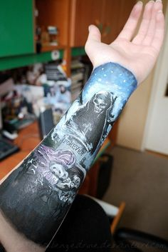Avenged Sevenfold Nightmare Tattoo. <3 This is amazing.