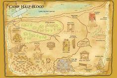 Mapa Campamento Mestizo