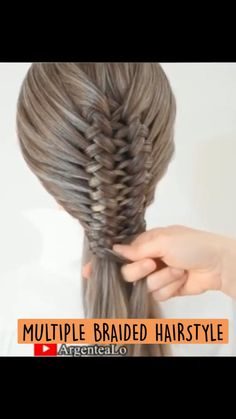 French Braid Hairstyles, Girl Hairstyles, Braided Hairstyles, Hot Hair Styles, Hair Hacks, Braids, Stylists, Up Dos, Trendy Hairstyles