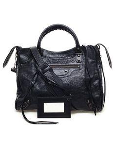 BALENCIAGA | 'Velo' Classic Leather Handbag