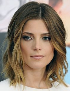 The new soft wave Hair Styles 2014, Medium Hair Styles, Short Hair Styles, Cute Hairstyles For Medium Hair, Pretty Hairstyles, Ombre Hair, Wavy Hair, Cute Hair Colors, About Hair