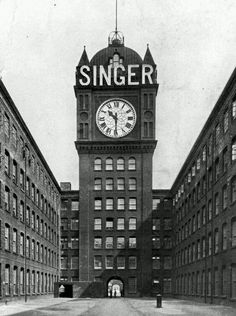 The clock at the former Singer Sewing Machine factory in Clydebank. It was the largest electric clock in the world with a larger face than Big Ben Edinburgh, Glasgow Scotland, Highlands, Whisky, Scotland History, Tower Stand, Unique Clocks, Big Clocks, West Coast Scotland