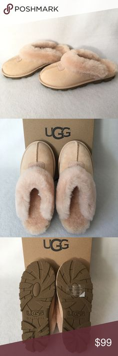 Authentic UGG Coquette Sandals 100 AUTHENTIC. Gorgeous sandals from Ugg. Very soft and very comfortable. Size 7. New w/ tag attached to the box. UGG Shoes Sandals