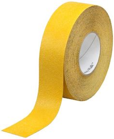3M Safety-Walk Slip-Resistant General Purpose Tapes and Treads 630-B, Safety Yellow, 4″ x 60′ (Pack of 1 Roll)  For light to heavy shoe traffic areasMineral-coated, high friction slip-resistant surfaceLow profile design helps reduce trip hazard  http://industrialsupply.mobi/shop/3m-safety-walk-slip-resistant-general-purpose-tapes-and-treads-630-b-safety-yellow-4-x-60-pack-of-1-roll/