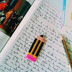 Pencil hama beads by pysslart