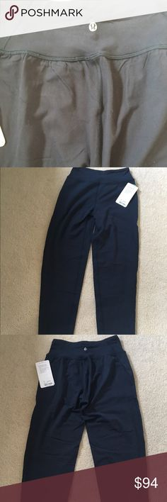 Lululemon Fit Physique Pant NWT-4 Lululemon Fit Physique Pant. Nocturnal teal color. Size 4. Brand new with tags. lululemon athletica Pants Straight Leg