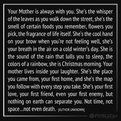 I honestly have the best Mom in the world. I hope to be half the mother to my daughter that she has been to Miss You Mom, Love You Mom, Just For You, My Love, Thank You Mom, Mom Quotes, Quotes To Live By, Life Quotes, Grief Quotes Mother