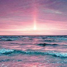 pink #beach #love #sea #sunset #sunrise #sky #pink #sun #F4F #outdoor #photooftheday #outdoors #instafollow
