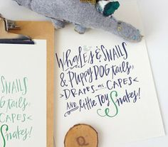 dinosaur nursery themes | Lindsay Letters - Whales and Snails