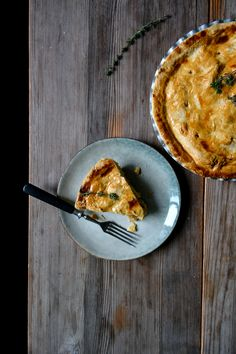 ... with taleggio potato apple and onion pie with taleggio and thyme eat
