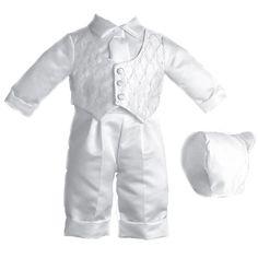 Possible baptism outfit for lance jr (Burlington Coat Factory)