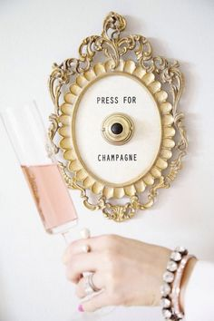 11 Party Ideas Every Champagne Lover Will Want to Pop, Fizz, Clink To via Brit + Co