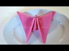 Servietten falten: Engel für Weihnachten - Tischdeko @mmarcoui @wagner522 @aspiringashley @areveley