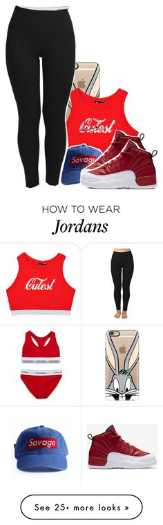 """They hate but they broke tho"" by iheyitspriyah on Polyvore featuring Casetify, Calvin Klein Underwear and NIKE"