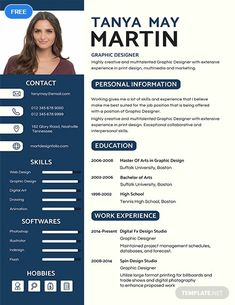 Free Professional Resume Template If you like this cv template. Check others on my CV template board :) Thanks for sharing! Graphic Designer Resume Template, Free Professional Resume Template, Microsoft Word Resume Template, Resume Template Examples, Graphic Design Resume, Best Resume Template, Resume Design Template, Cv Template Student, Free Resume