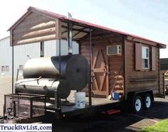 BBQ Concession Trailer - BBQ Concession Trailer For Sale Used 2010 BBQ Trailer Mobile Restaurant, Mobile Kitchen, Southern Yankee BBQ Concession Style Trailer, Like New! Concession Trailer For Sale, Trailers For Sale, Barbecue Pit, Bbq Grill, Bago, Bbq World, Bbq Smoker Trailer, Custom Bbq Pits, Bbq Catering
