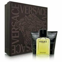 Versace L'Homme by Versace 3 Piece Set Includes: 3.3 oz Eau de Toilette Spray + 2.5 oz After Shave Balm + 2.5 oz Foaming Gel for Body and Hair by Versace. $41.99. Save 48%!