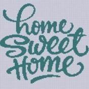 Home Sweet Home 2 Cross Stitch Pattern - via @Craftsy